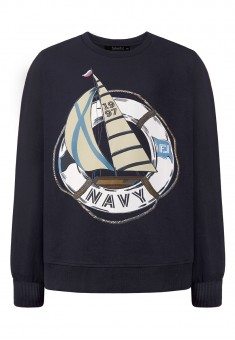 Boys Long Sleeve Sweatshirt dark blue