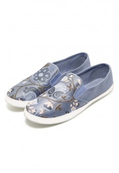 Lily SlipOns blue