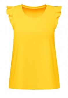 Футболка для девочки цвет жёлтый
