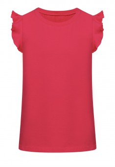 Short Sleeve Top raspberry