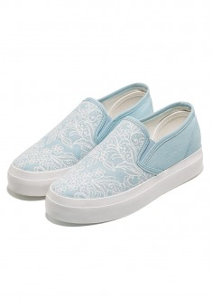 Fiore SlipOn Shoes light blue