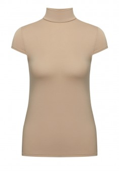 Short Sleeve Turtleneck beige