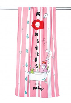 Terry Bath Towel pink