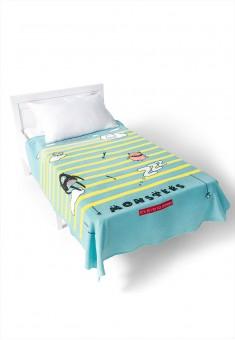 Fleece Blanket blue