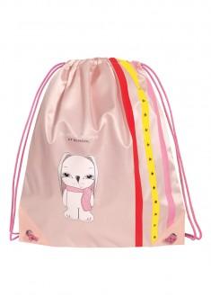 Мешок для обуви Bunny цвет розовый