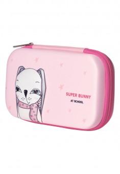 Пенал Bunny цвет розовый