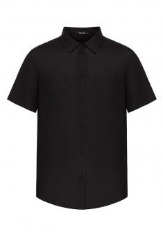 рубашка с коротким рукавом для мужчины цвет черный