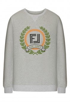 Long Sleeve Jersey Jumper light grey melange