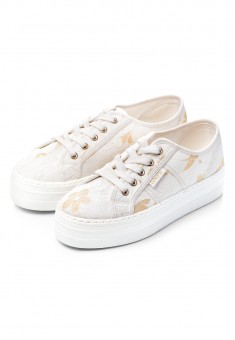Domenica Canvas Shoes white