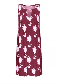 Night Dress burgundy