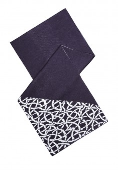 Mens Scarf blue