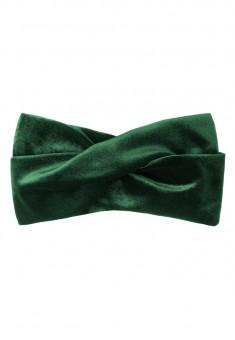 Velvet Headband emerald