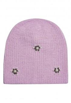 Pearl Beanie Cap lavender
