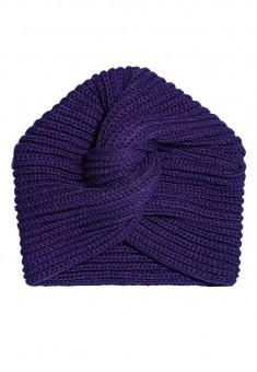 Turban Cap violet