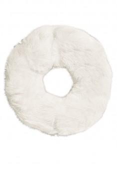 Faux Fur Hair Band white