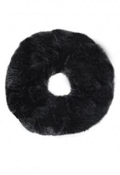 Faux Fur Hair Band black