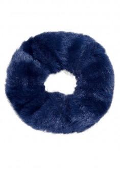 Faux Fur Hair Band blue