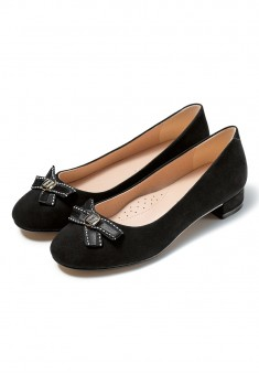 Adele Girls Shoes black