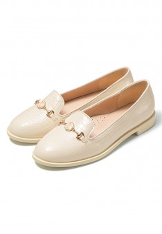 Marie Girls Loafers vanilla