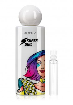 SuperGirl Eau de Parfum for Her test sample