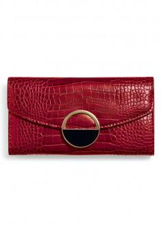 Кошелёк Style цвет бордовый