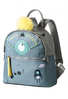 Рюкзак цвет серый