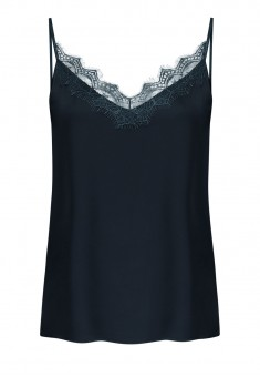 Lace Top blue