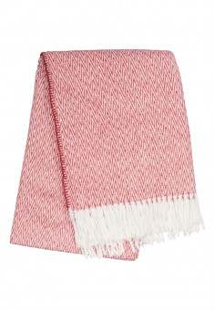 Throw Blanket red