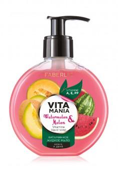 Витаминное жидкое мыло Арбуз  дыня Vitamania