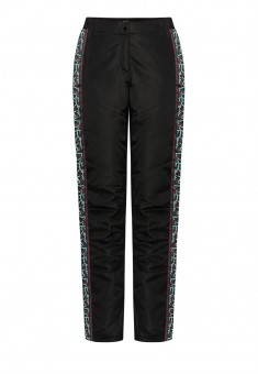Insulated Side Stripe Trousers black