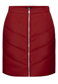 Insulated Quilt Skirt dark red