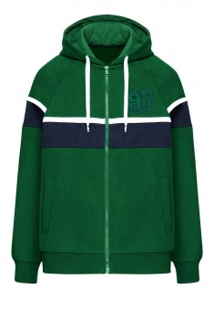 Mens Hooded Sweatshirt green