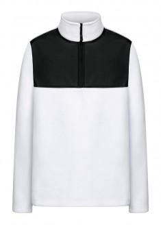 Флисовый джемпер для мужчины цвет белый