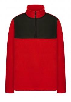 149M2505 трикотажный джемпер с длинным рукавом для мужчины цвет красный