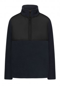 Boys Polar Fleece Jumper dark blue