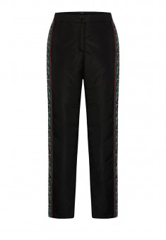 Girls Insulated Side Stripe Trousers black