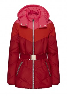 Girls Insulated Hooded Quilt Coat multicolor