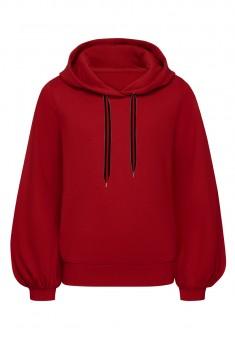 Girls Sweatshirt dark red