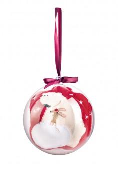 SO131 Носки в праздничном шаре Мишка размер 3640