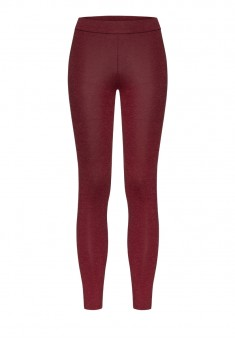 Thermal Leggings burgundy melange