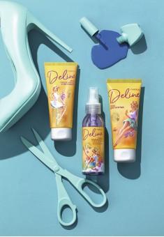 Гель для бритья Орхидея и масло мурумуру Deline