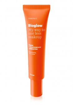 BioGlow Face Cream with pearlescent effect