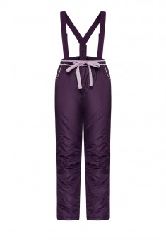 Girls Insulated Suspender Trousers violet