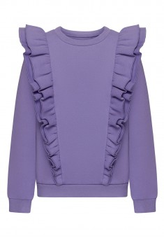 Girls French Terry Sweatshirt lilac