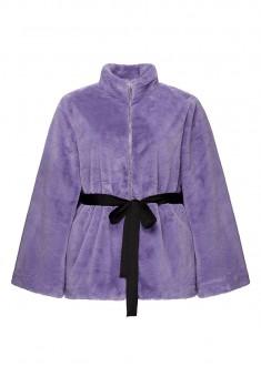 Faux Fur Coat lilac