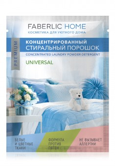 Universal Concentrated Laundry Detergent Test Sample