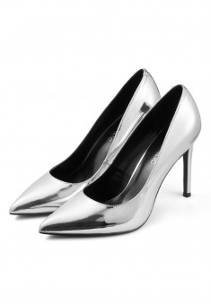 Glamour Pumps silver