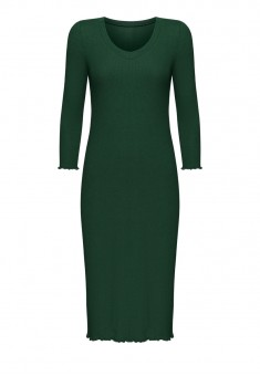 Textured Jersey Night Dress emerald