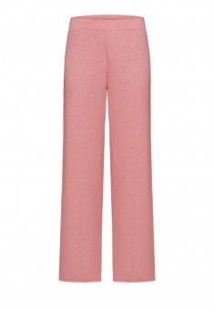 Textured Jersey Trousers pink melange