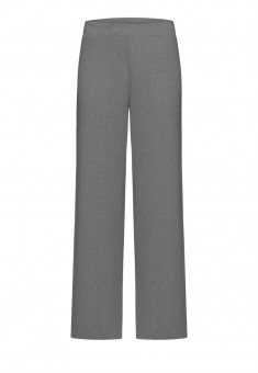 Textured Jersey Trousers grey melange